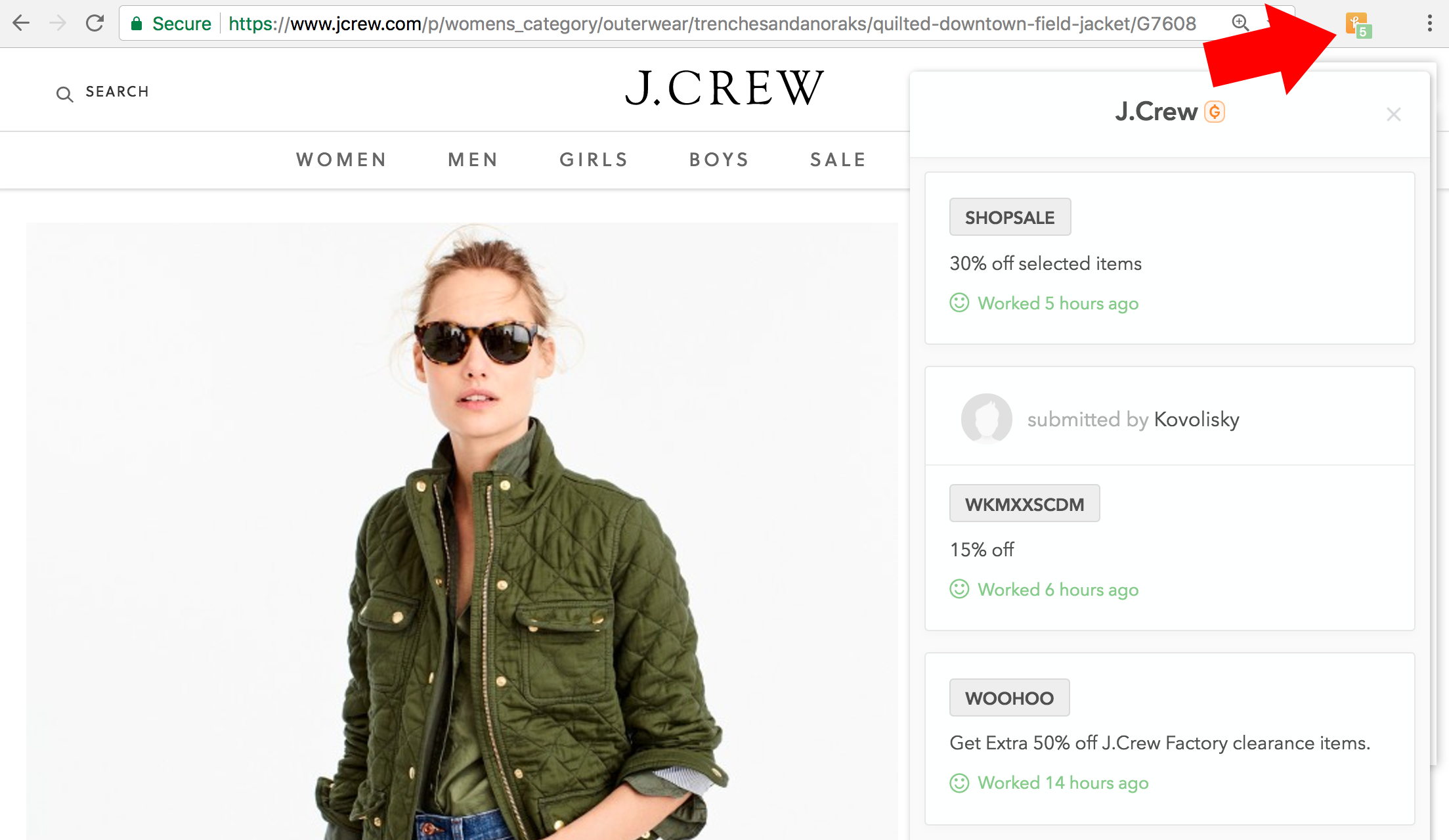 Literally Every J.Crew Factory Coupon