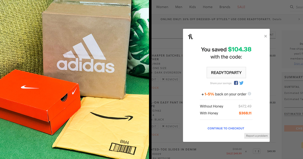 Honey Automatically Tests And Applies Promo Codes At Checkout - So You Don't Have To